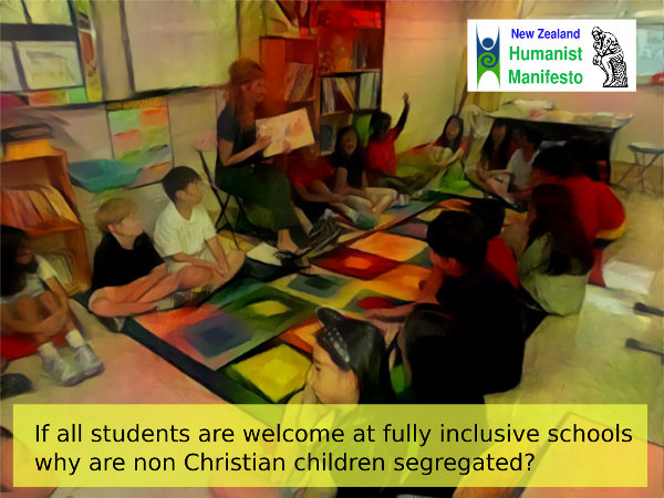 Humanist Manifesto: Eliminate Religious Indoctrination in State Schools