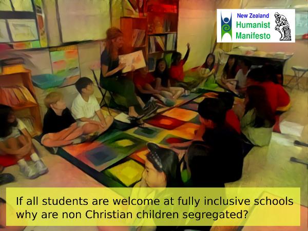 Humanist Manifesto: Eliminate Religious Indoctrination in State Schools